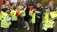 Schepen leidt evacuatie-oefening in goede banen