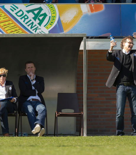 Theo ten Caat in beeld voor Jong FC Twente
