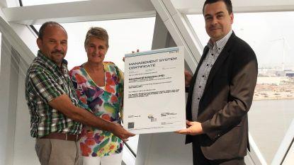 Havenbedrijf beloond voor duurzaam energiebeleid