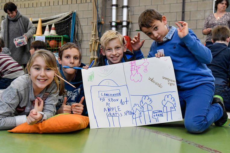 Deze kinderen dromen van een groot gamecenter in Dendermonde.