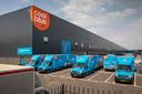 Distributiecentrum van Cool Blue op de Vossenberg in Tilburg.