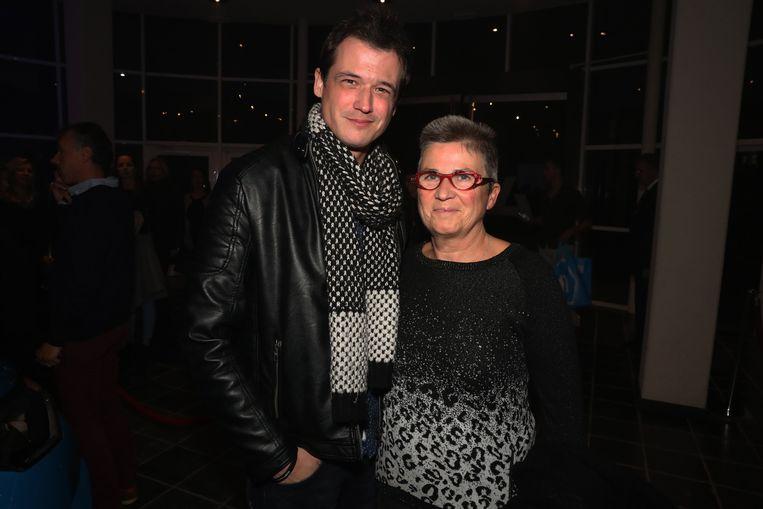 Kristof Goffin bracht zijn moeder mee.