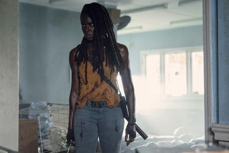Een scène uit The Walking Dead.