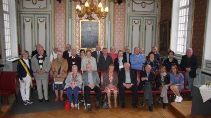 Gouden en diamanten jubilarissen ontvangen op stadhuis