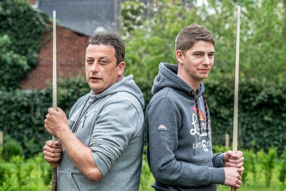 Dave Desloovere en Diego van Coillie willen Maiko herdenken met een golfbiljarttornooi dat zijn naam draagt.