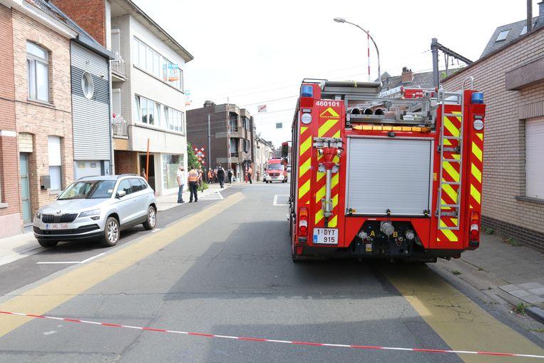 Het dramatische ongeval gebeurde gisteren aan de overweg.