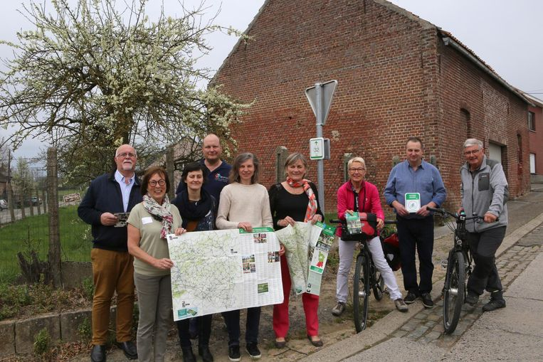Toerisme Vlaams-Brabant stelt de nieuwe en verbeterde fietskaart voor.