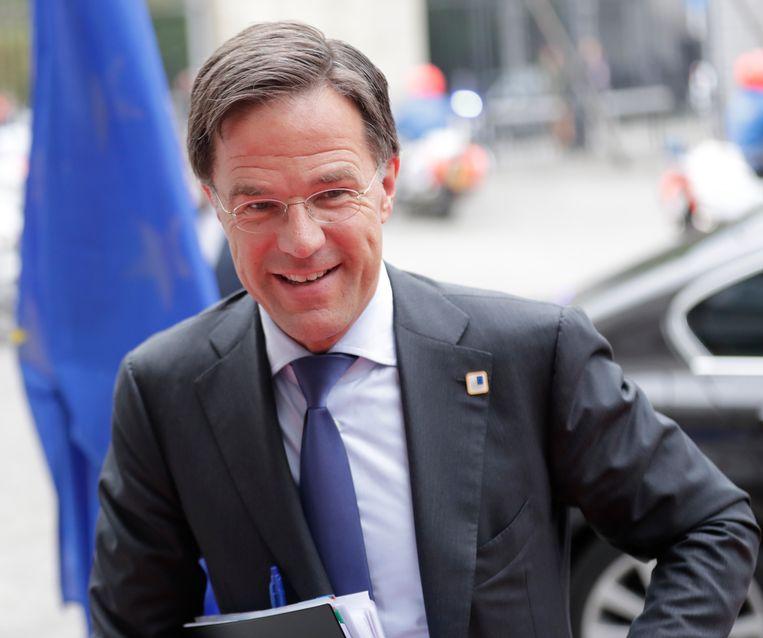 Verliezer van de week Mark Rutte.  Beeld EPA