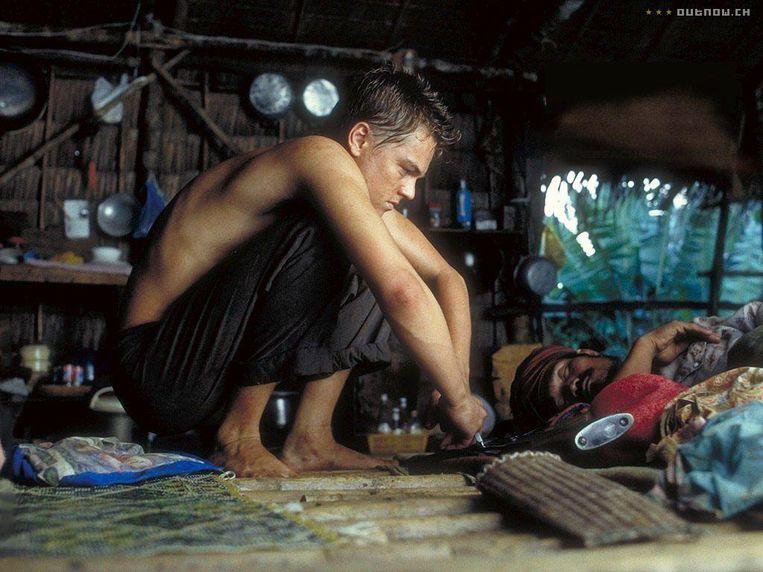 Leonardo DiCaprio in The Beach van Danny Boyle. Beeld