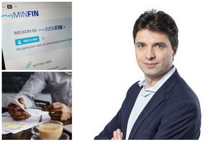 """Over de veiligheid van bankapps hoef je je niet meteen veel zorgen te maken, zegt Michaël Van Droogenbroeck: """"De apps zelf zijn veilig en betrouwbaar"""""""