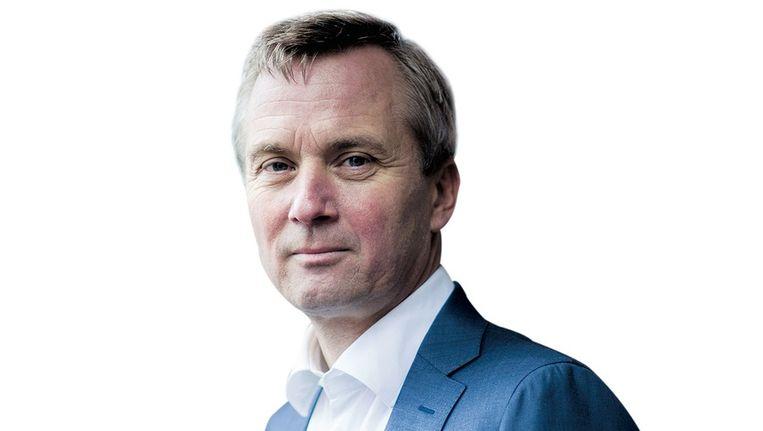 Lijsttrekker Eric van der Burg van de VVD. Beeld Rink Hof