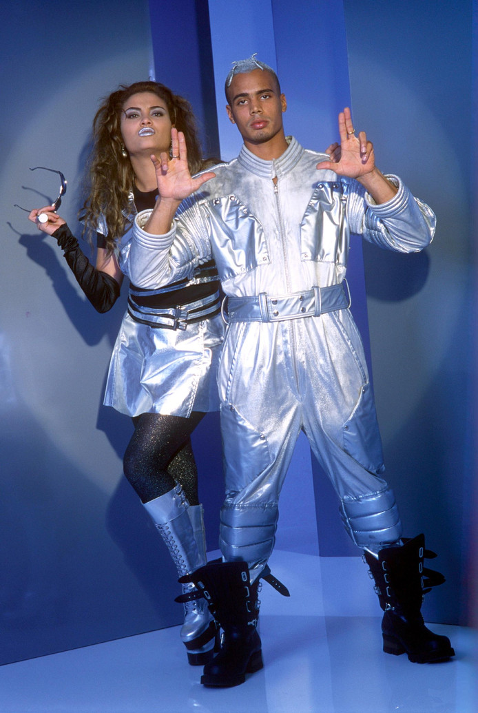 2 Unlimited in 1996.