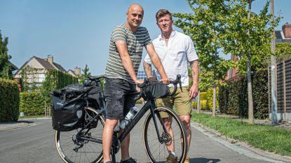 """Lorenzo vertrekt op fietsbedevaart voor overleden echtgenote Stefanie: """"Ik hoop alles een plaatsje te kunnen geven"""""""