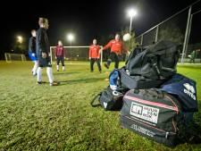 Onderhoud aan voetbalvelden en paasbrood voor medewerkers van Rhijndael