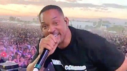 VIDEO. Verrassing van formaat op Coachella: Will Smith staat plots op het podium