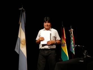 Verdreven Boliviaanse oud-president wil verkiezingsbijeenkomst op grens