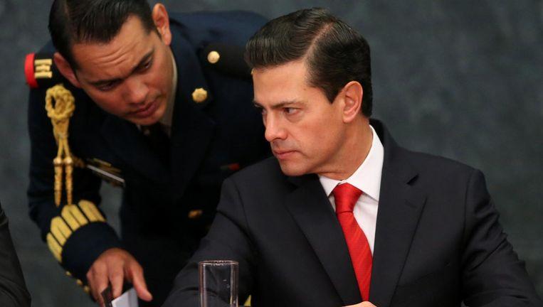 President Nieto van Mexico. Beeld Reuters
