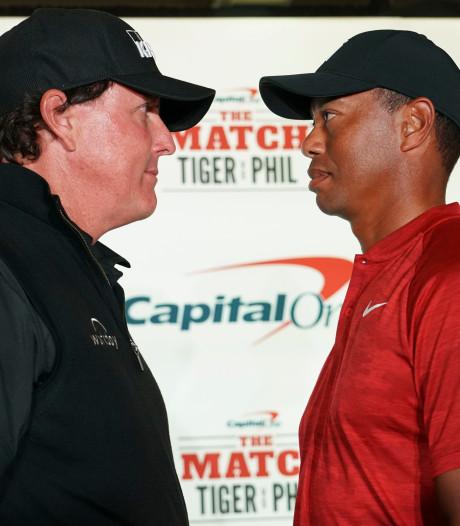 Woods en Mickelson golfen voor 9 miljoen dollar