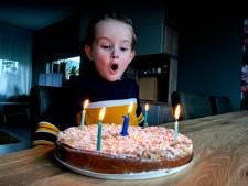 Schrikkeljarigen mogen eindelijk weer kaarsjes uitblazen: 'Ik word 1, maar ook 4'