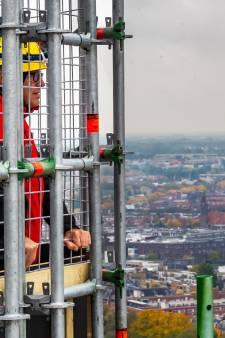 Met de lift de Domtoren op, vanaf volgend jaar kan het! (dat scheelt weer 495 traptreden)
