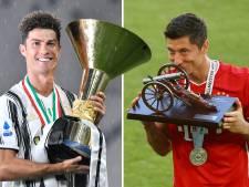 Record gloort voor Ronaldo, Lewandowski bijna topscorer
