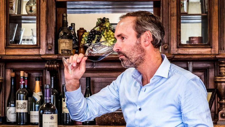 Directeur Xavier Kat van Wijnkoperij Okhuysen. Beeld Raymond Rutting