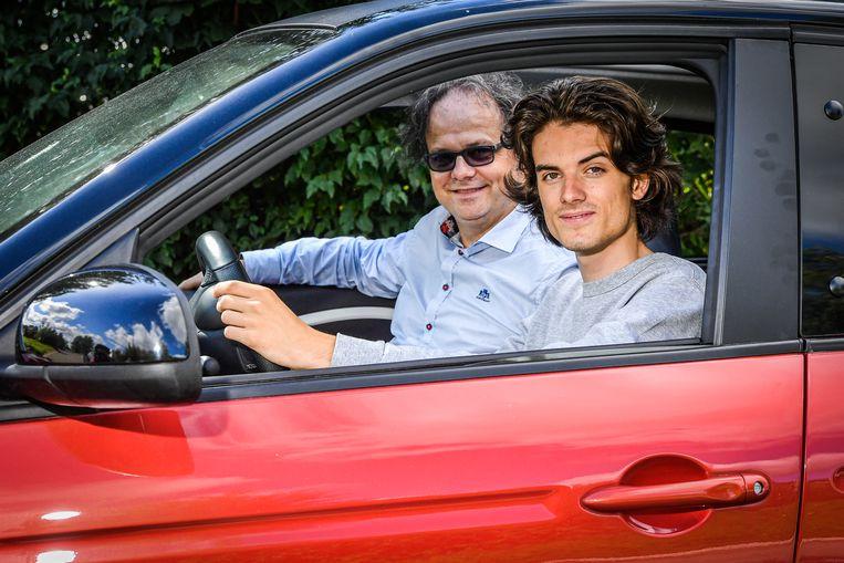 Johan en Ruben Degroote uit het tv-programma 'Het Gezin'.