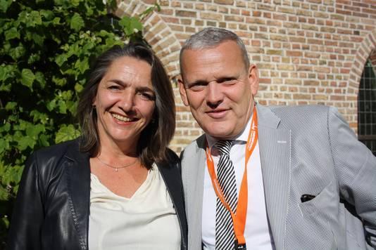 Mirjam Barendregt en Alexander Beets. ,,Amersfoort Jazz is avontuurlijker en volwassen geworden.''