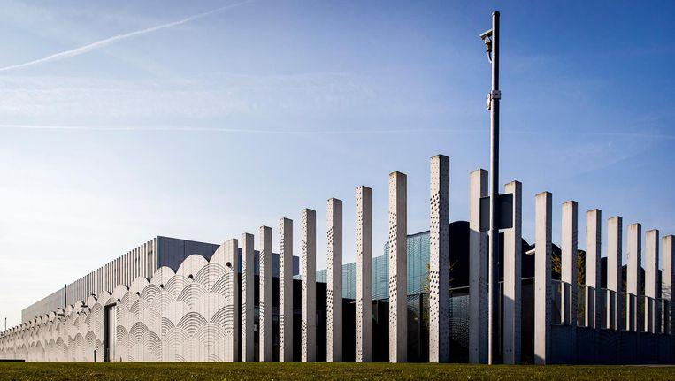 De rechtbank op Schiphol waar het OM de nieuwe kroongetuige vrijdag preenteert. Beeld ANP