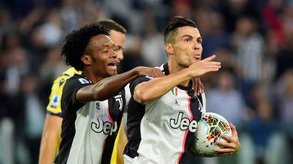 LIVE. Cristiano Ronaldo zet Juventus op voorsprong vanop de stip