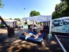 'Protestkamp' gaat de vierde week in, maar gemeente geeft nog steeds geen krimp