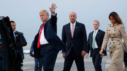 Geen rode loper en premier Michel niet aanwezig: Trump krijgt sobere ontvangst in Brussel
