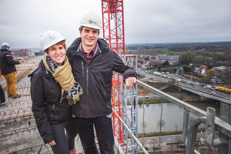 Koenraad Belsack en Nele Van Damme van Upgrade Estate