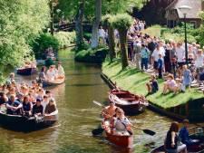 Vaarverbod dreigt in Giethoorn na een te drukke zondag volgens de burgemeester