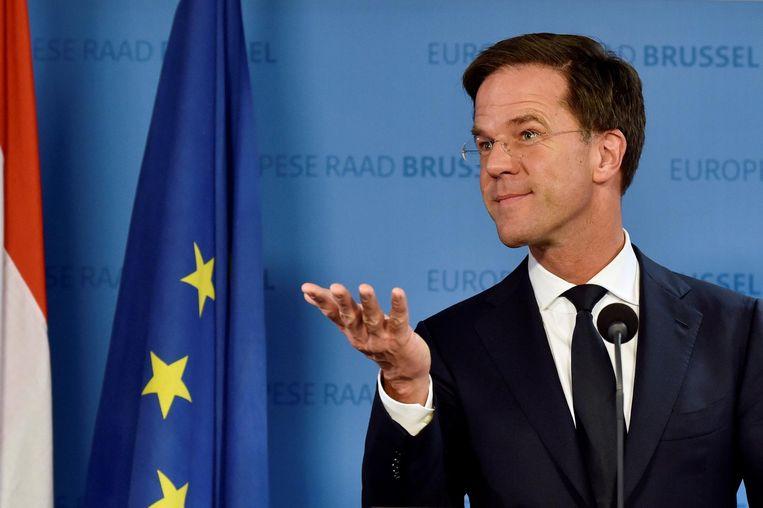 15 december: Rutte kan tijdens de EU-top bekendmaken dat er een deal is gesloten. Beeld reuters