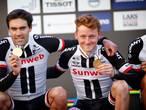Oomen kan Vuelta voor even vergeten na goud: 'Trainen met een glimlach'