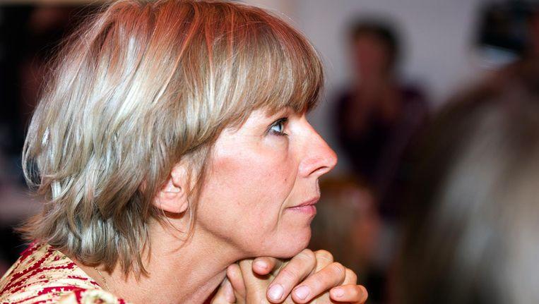 Auteur Francine Oomen is een van de ondertekenaars van een brief aan Dineke Kuijpers en Patrick Swart van WPG Uitgevers. Beeld anp