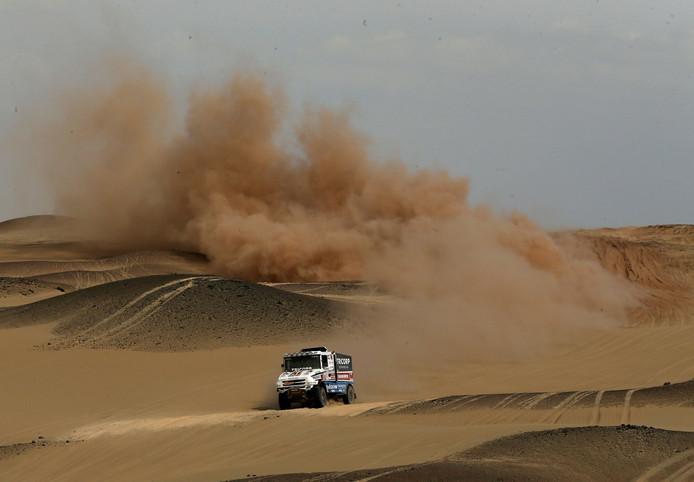 Maurik van den Heuvel eerder deze Dakar Rally.