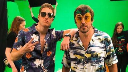 Vandoorne en Alonso halen hun meest kleurrijke hemd boven om goed doel te steunen