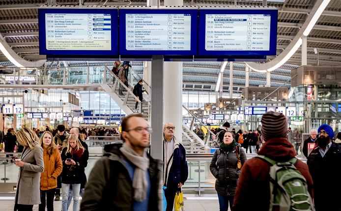 Vertraging en de communicatie daarover is een van de grootste ergernissen van treinreizigers.