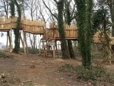 Avonturenbos Groesbeek te druk:  bos 'gesloten'