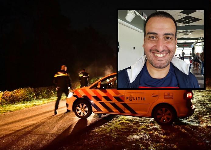 Politie-inzet bij Aquabest. Inzet: Yassine Majiti.