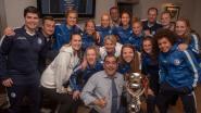 Kampioenenfeestje Gent Ladies bij Savas