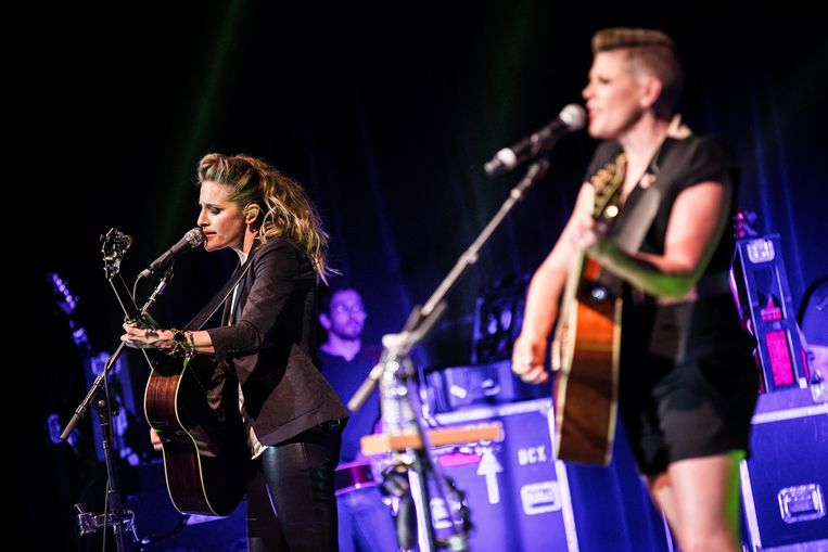 De band Dixie Chicks heet vanaf nu The Chicks.  Beeld Universal Images Group via Getty