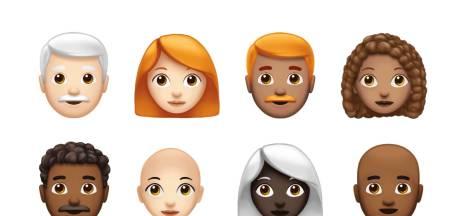 Krullenbollen, superhelden en grijsaards krijgen eigen emoji