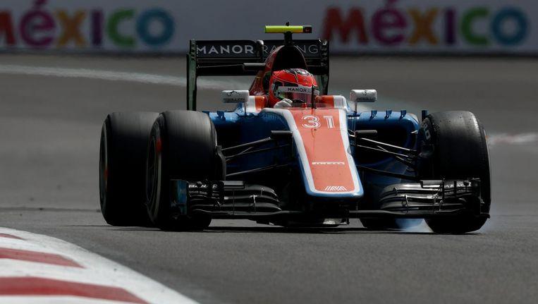 Esteban Ocon van Manor bij de Grand Prix van Mexico Beeld ANP
