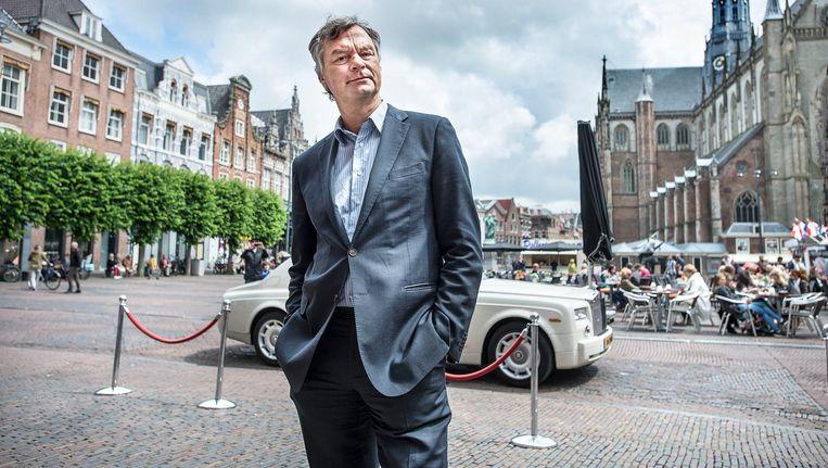 Bernt Schneiders, oud-burgemeester van Haarlem. Beeld Guus Dubbelman / de Volkskrant