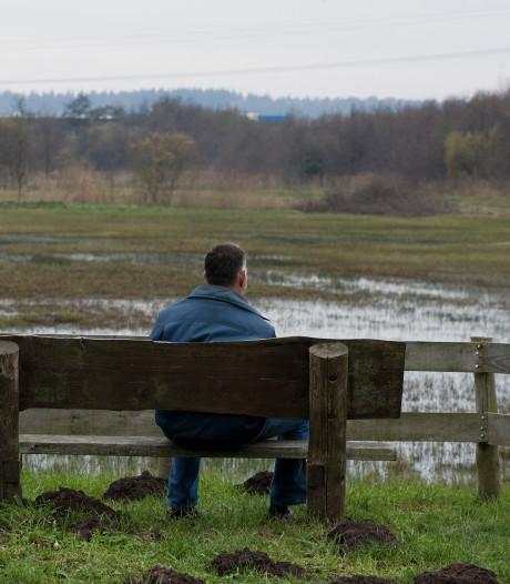 Schoner water maar ook bomenkap in de Blauwe Hel in Veenendaal