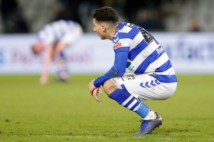 Mohamed Hamdaoui, al weken uit vorm bij De Graafschap.