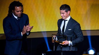James Rodriguez scoorde mooiste doelpunt van het jaar